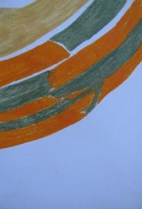 novo stanje 11, uljani pastel, 30x21cm, 2013.